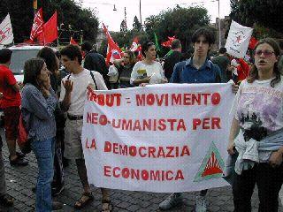 Manifestazione FAO giugno 2002