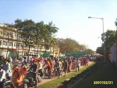 Manifestazione Amra Bengali a Ranchi